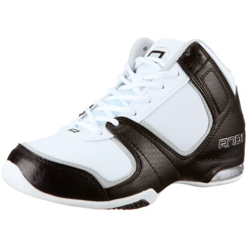 AND1 Advance Mid, Zapatillas de Baloncesto Unisex, Blanco, 44 1/2