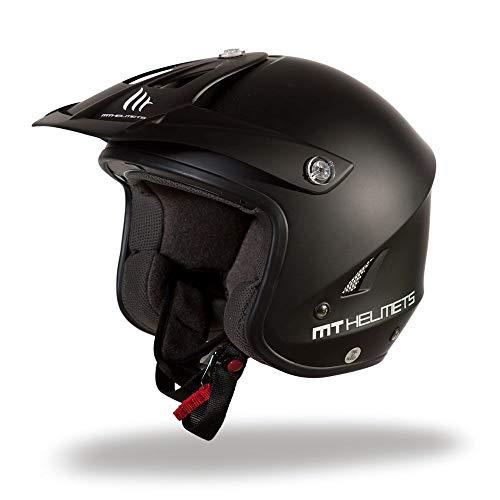TRIAL MT - TR ONE motorhelm M Mat zwart