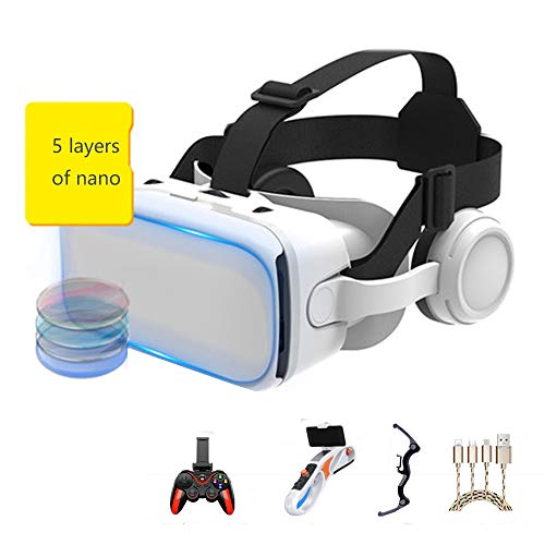 Buy Bargain AYI Vr headsets Virtual Reality Glasses 3D Glasses Head-Mounted Glasses Audiovisual Mach...