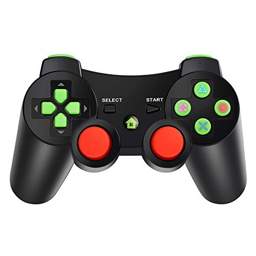 Bluetooth Wireless Game-Controller Wireless-Joystick Gamepad für PS3 Videospiele Griff Joystick Topker