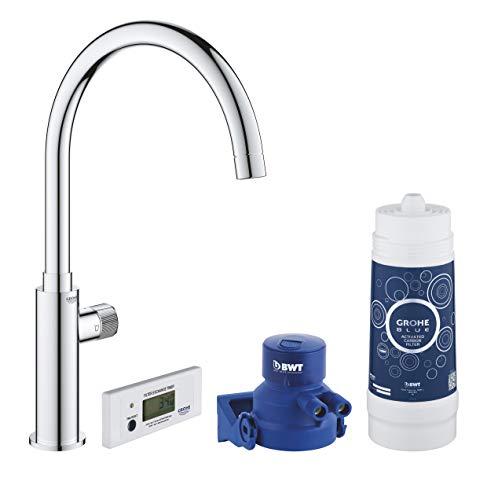 GROHE Blue Pure Mono | Wasserhahn Starter Kit Wassersprudler | Chrom | 30387000