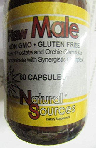 Natural Sources - Raw Male, 60 capsules