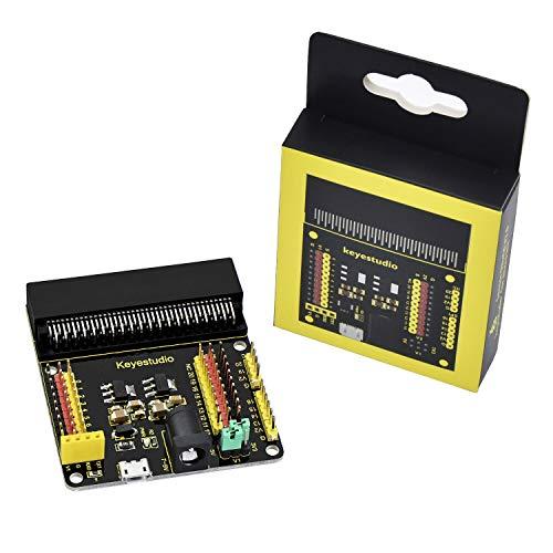 KEYESTUDIO BBC Micro: Escudo de Adaptador de ruptura de la Placa de expansión de bits con IO de para Micro:bit Starter Kit
