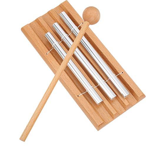 El xilófono ligero de los niños juega la caja fuerte durable con el martillo para los niños
