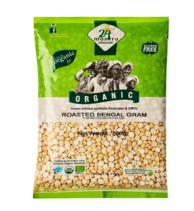 NT # 24 Mantra Orgánica Roasted Bengal Gram Dal 500G -Dals nunca pudo haber probado mejor. nuestras dals son orgánicas y cultivadas sin usar pesticidas y OGM