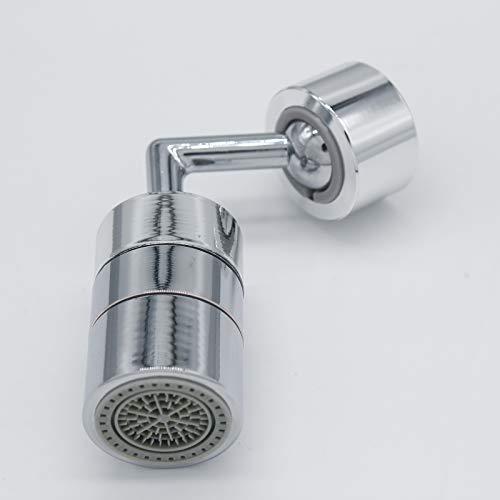 BuleEco Wasserhahnspritze 720 Grad Drehbarer Universalkopf mit Haltbarem Kupfer & Bauch Universeller Spritzfilterhahn