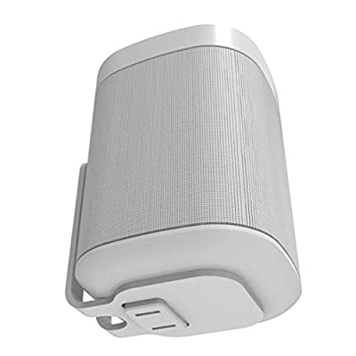 ONE, ONE SL & Play:1 Wall Mount Bracket, White, Compatible with SONOS ONE & PLAY1 Speaker from Sound bass