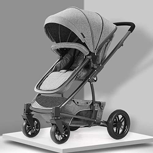 BESTPRVA Portátil cochecito de bebé del carro de bebé del cochecito del cochecito de bebé del cochecito de niño del carro del cochecito-Cochecito cochecito compacto convertible cochecitos, extra grand