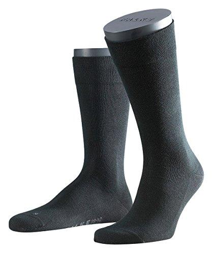 FALKE 3 Paar Herren Socken 14616 Sensitiv London SO, Socken & Strümpfe:43-46, Farbe:Black
