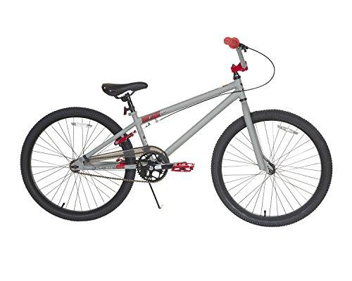Dynacraft Tony Hawk BMX Bike Boys and Mens 24 Inch Wheels with Rear Hand Brake in Grey