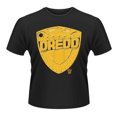 Comic Book Graphic Novel Men/'s Black T Shirt 2000AD Judge Dredd The Law