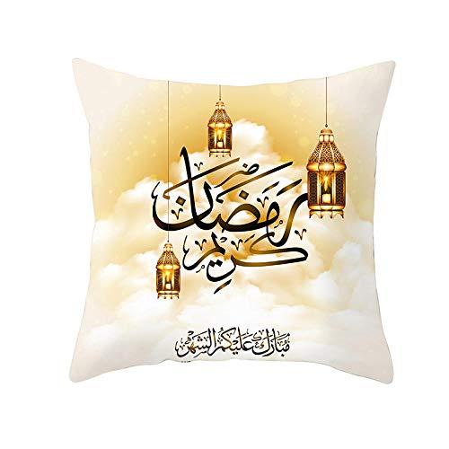 Fundas de colchón Funda de Almohada del Festival musulmán del Ramadán Funda...