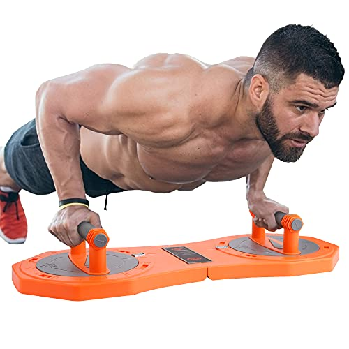 YIGM 360 ° Rotation Push Up Board Push Up Bar Upgrated Push-up Board Exercise Equipment for Home Workouts Portable Push Up Stands