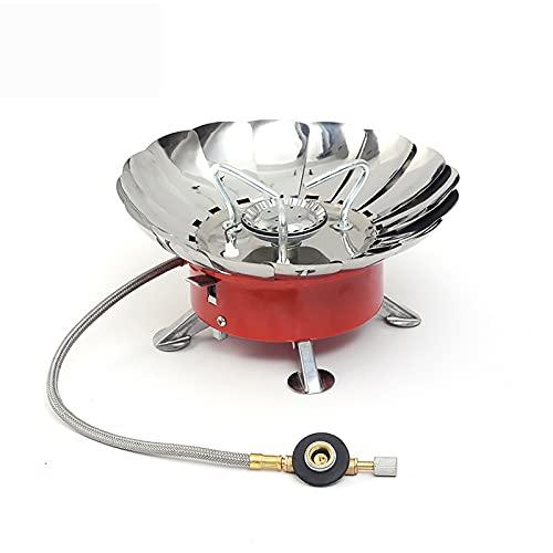 'N/A' Estufa De Keroseno Tipo Antorcha, Potencia De Fuego A Prueba De Viento Y Ajustable, Calefacción Rápida O Cocción, Estufa De Metal para Acampar Portátil