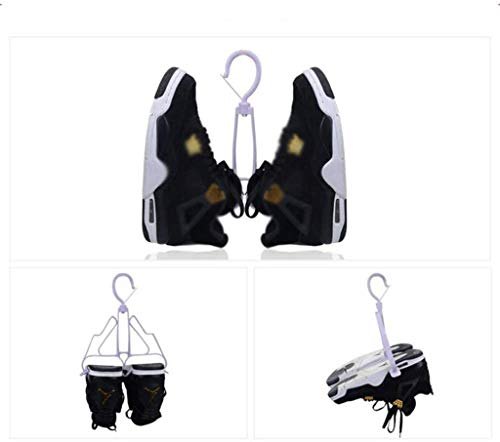 YLCJ familie eenvoudige en praktische schoenen schoen plank schoen plank staande opslag plank ophanging roterende tilt ondersteboven Dual gebruik haak multifunctionele drogen binnen sterk en sterk