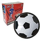 空気圧ソフトフォームカラフルなLEDライトホバーパワーボールキッズクリスマスのおもちゃとホッケーサッカー少年用エアパワーサッカーをフローティング一時停止