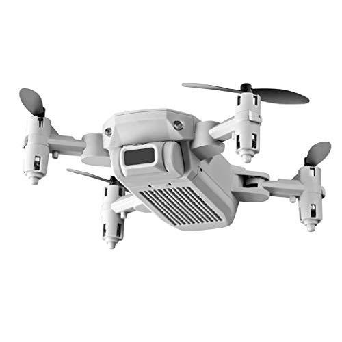 perfeclan Multi-Funzione 4K HD Camera Drone 2.4GHZ Altitude Hold RC per Principianti Adulti(Non Include l'obiettivo) - Bianco