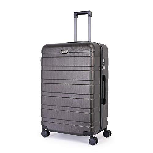 BONTOUR Koffer Groß XL Suitcase, hartschalenkoffer 4 Rollen aus Polycarbonat Material mit...