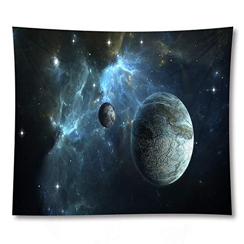 Outer Space Pianeta Via Lattea Stampato Arazzo Indiano Hippie Mandala Appeso A Parete Sfondo Bohemien Arazzo di Stoffa A3 73x95 cm