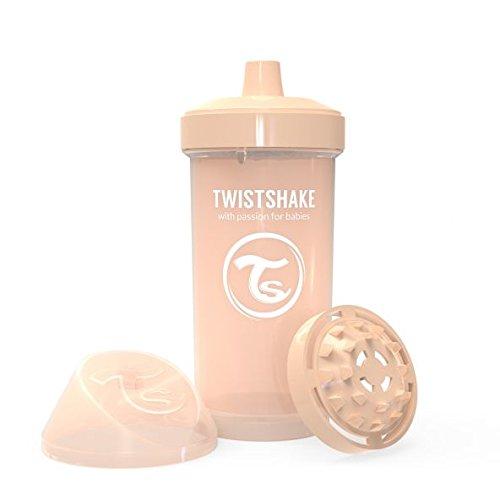 Twistshake 78283 - Vaso con boquilla, color pastel beige