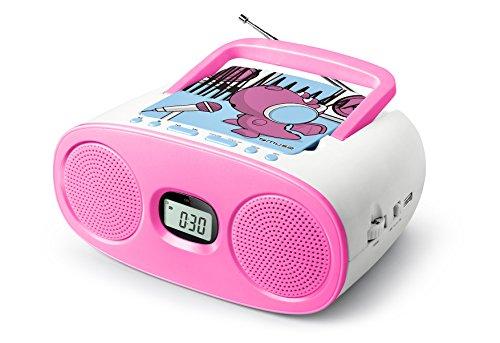 Muse M de 167KDG Reloj Radio con Projection para niños