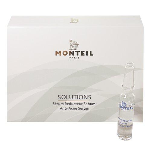 Monteil Paris SOLUTIONS ANTI - ACNE SERUM 3 x 2ml 3 tiefenwirksame Ampullen gegen unreine Haut