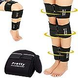 Footsihome O/X Leg Type Correction Belt- 3 Pack Adjustable Legs Posture Corrector Belt Knock Knees Shape Straightening Band Bandage