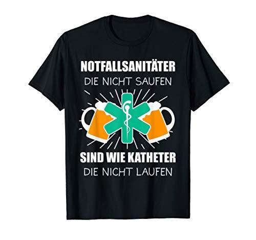 Notfallsanitäter Rettungsdienst Sanitäter Geschenk T-Shirt
