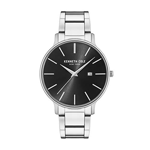 Reloj Kenneth Cole Spring Summer 2017 para Hombres 42mm, pulsera de Acero Inoxidable