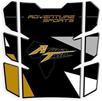 TANKPAD RESINATO EFFETTO 3D compatibile con Triump.h Daytona 675 600 R RX SE v6 PROTECTION DE RESEVOIR TANKSCHUTZ PARASERBATOIO ADESIVO
