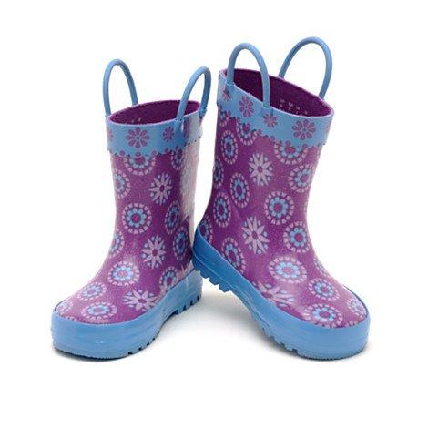 Disney La Reine des Neiges - Bottes de pluie La Reine des neiges pour enfants. taille UK 12 ---- EU 31