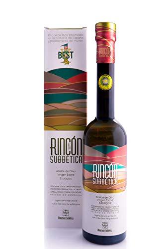 Rincon de la Subbetica 500 ml - Aceite de Oliva Virgen Extra Ecológico Variedad Hojiblanca