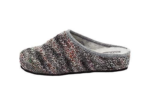 ARA Damen Pantoffel grau Multi Größe 37 bis 42, Damen Größen:40, Farben:grau