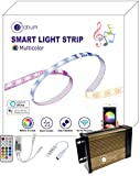 Voice Control: Light strip is compatible with Alexa, Google Assistant, IFTTT. light strip can be controlled by your voice commands such as turn the light on/off, dim/brighten, set light to daylight white, change to the red. etc. Sync to the Music Bea...