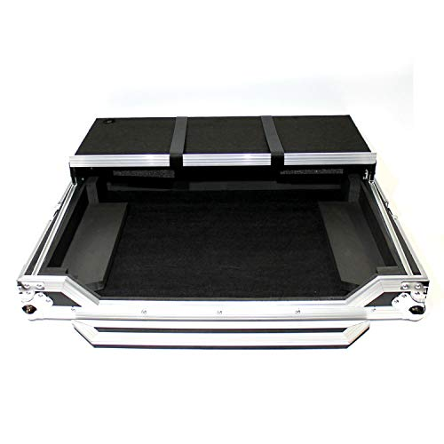 Protekt DJ Flight Case + Laptop Shelf for Pioneer Dj DDJ-SX, DDJ-SX2, DDJ-SX3, DDJ-RX Controller