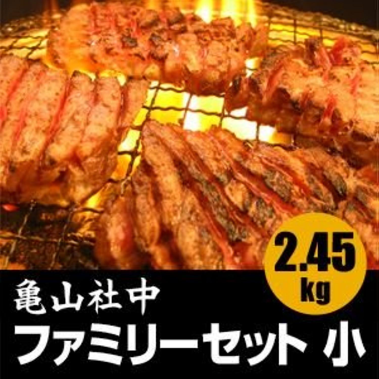 亀山社中 焼肉?BBQファミリーセット 小 2.45kg