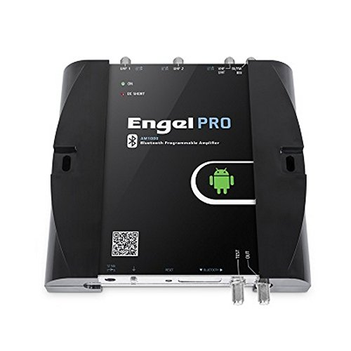LTE Central AMPLIFICADORA PROGRAMABLE Engel para 3 ENTRADAS PROGRAMACION Bluetooth Android DIVIDENDO Digital