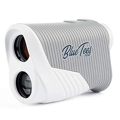 Blue Tees Golf Series 2 Tour Laser Rangefinder for Golf - Distance Finder, 800 Yards Range, 6X Magnification, Flag Lock Pulse Vibration, Non Slope