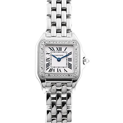 カルティエ Cartier パンテール ドゥ ウォッチ SM WJPN0012 シルバー文字盤 中古 腕時計 レディース (W205200) [並行輸入品]