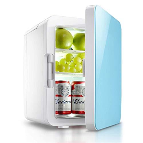 JLKDF Mini refrigerador de 10L para dormitorios u200bCongelador Refrigerador pequeño para Acampar 12V/220V Mini refrigerador Minibar silencioso Refrigeradores, Refrigerador para cosmét