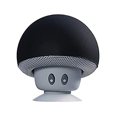 Amazon - Save 70%: Portable Small Head Wireless Bluetooth Speaker Silicone Suction Cup Spe…