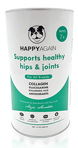 Top 10 best selling list for happy again joint supplement for dogs