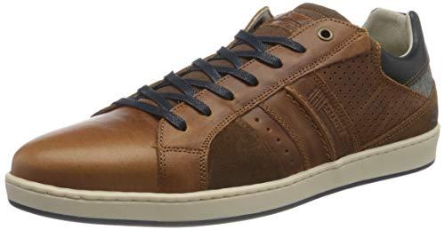 BULLBOXER Herren 758K26774BP2 Sneaker, Cognac, 44 EU