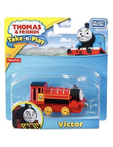 Thomas the Tank Engine Take N Play Victor Take Along Train by Fisher-Price