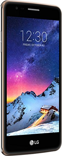 LG Mobile K8 (2017) Smartphone (12,7 cm (5 Zoll) IPS Bildschirm, 16 GB Speicher, Android 7.0) gold