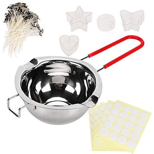 Parluna Kerzenherstellungswerkzeug, Verschiedene formstabilisieren Kerzen-Kit-Versorgung, Praktisch zum Schmelzen von Butter Schmelzen Karamellschmelzen Schokoladenschmelzkäse