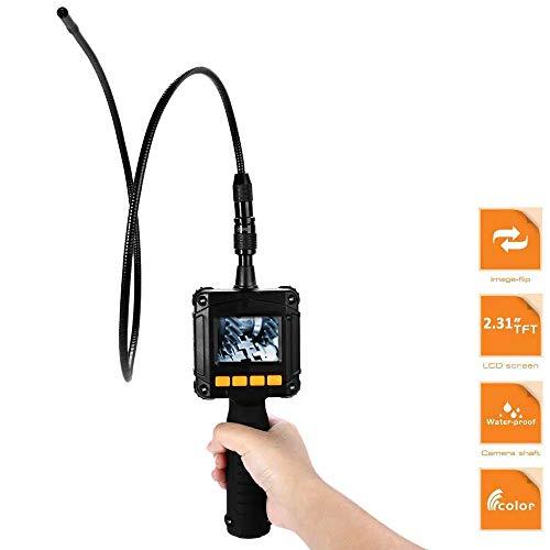 Madprice Telecamera ENDOSCOPICA con Monitor LCD 4 LED Cavo SONDA LED Flessibile ISPEZIONE