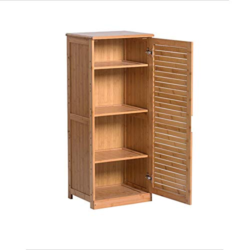 XIAOLIN Rack de chaussure 4 couches usage domestique Shoebox Dust-proof Storage Cabinet entrée Corridor de casier en bambou