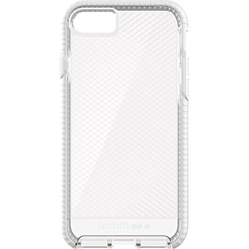 Tech21 Evo Check Schutzhülle für Apple iPhone 7 / iPhone 8 - Transparent/Weiß