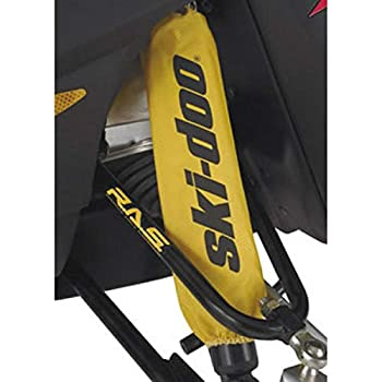Ski-Doo New OEM Yellow Front Shock Protector Sleeve Covers Pair 860201130